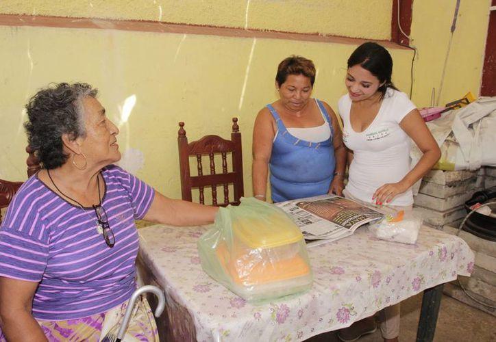 Marisol Sotelo ofrece estar pendiente de las necesidades de los vecinos del II Distrito. (SIPSE)