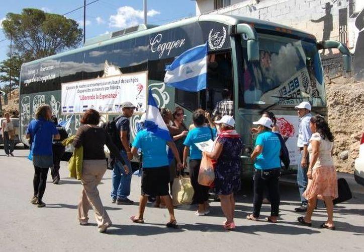 En caravana las mamás centroamericanas recorrerán México por tercera vez. (Agencias/Contexto)