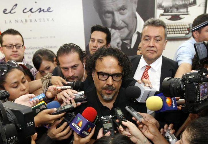 Alejandro González Iñárritu compartió que tanto Birdman, como The Revenant, le han permitido salir de su zona de confort. (Notimex)