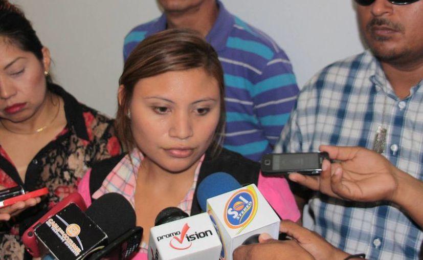 Blanca Chalé Cabrera designada encargada del área de servicios periciales. (Julián Miranda/SIPSE)