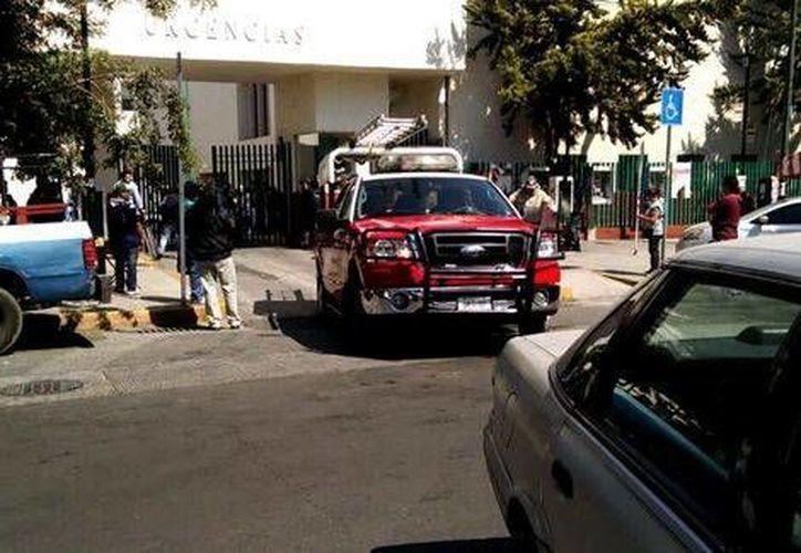 Las autoridades realizaron una revisión exhaustiva en el Hospital Rubén Leñero y descartaron riesgos. (Milenio)