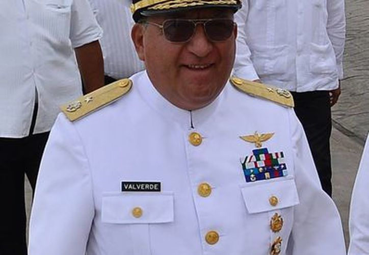 Luis Arturo Torres Valverde dejó el mando del Sector Naval. (Gustavo Villegas/SIPSE)