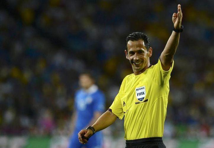 El experimentado árbitro portugués ha tenido una buena actuación en este mundial. (facebook)