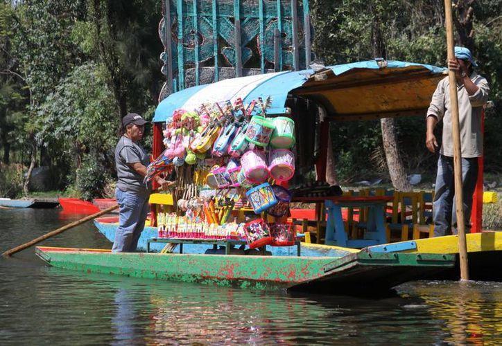 Xochimilco es uno de los sitios más importantes para el turismo del Distrito Federal. (Agencias)