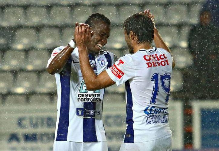 Con un doblete de Darío Cvitanich, Tuzos de Pachuca golearon 4-1 a Venados FC de Yucatán en un partido de la fase de grupos de la Copa MX. (futboltotal.com.mx)