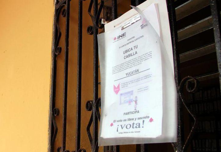 El RFE dio a conocer que en Yucatán no podrán votar más de 30 mil personas, ya que no renovaron su credencial electoral. Imagen de contexto. (José Acosta/SIPSE)