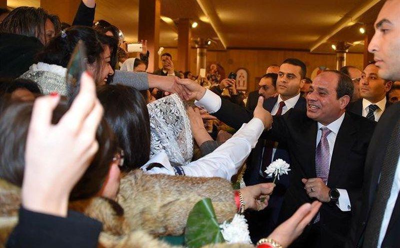 Al-Sisi, reelegido en Egipto en comicios sin apenas competición