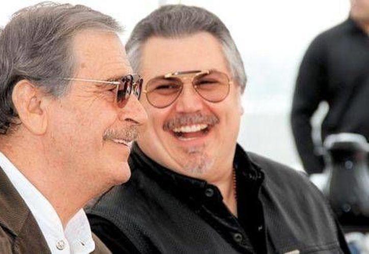 Vicente Fox incluso se dio tiempo de reiterar su rechazo a la propuesta electoral de AMLO. (Milenio Digital)