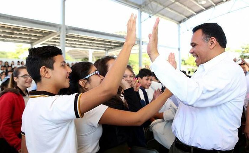 El gobernador Rolando Zapata tiene dos eventos programados para este domingo. (SIPSE)