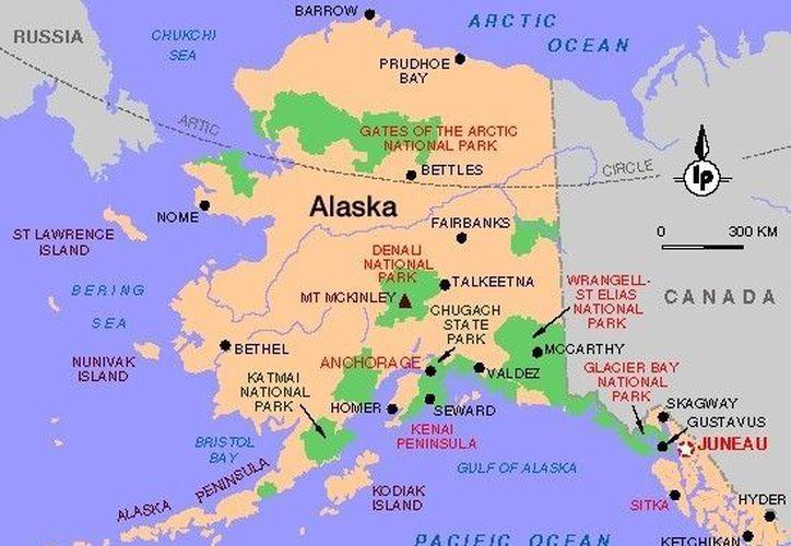 El terremoto puso en alerta a las autoridades de Alaska y Canadá. (www.blogspot.com)
