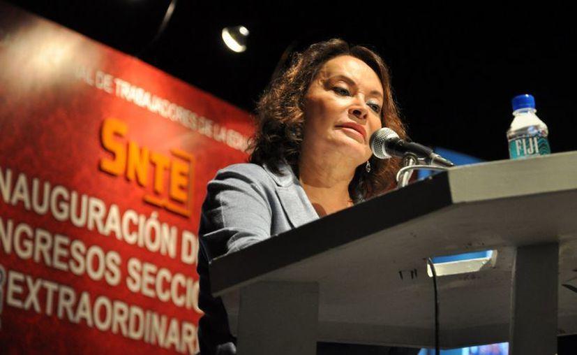 Elba Esther Gordillo asegura que desea que el Estado recupere la rectoría para bien de la educación pública. (Archivo/Notimex)