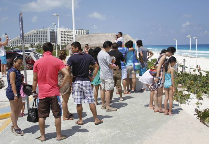La oferta turística del Caribe mexicano atrae al turismo internacional. (Israel Leal/SIPSE)