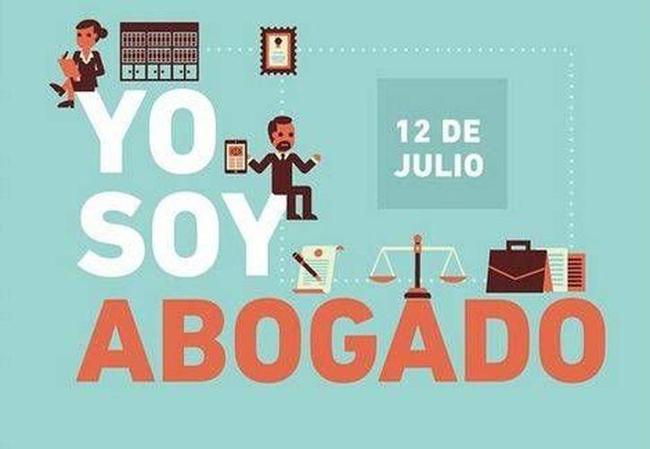 Esta es la imagen que compartió el presidente Enrique Peña Nieto en su cuenta de Instagram en el Día del Abogado. (Foto especial tomada de Milenio)