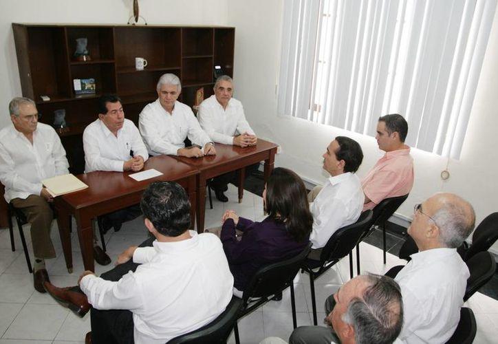 Cambio de mando en la SE, delegación Yucatán. (Cortesía)