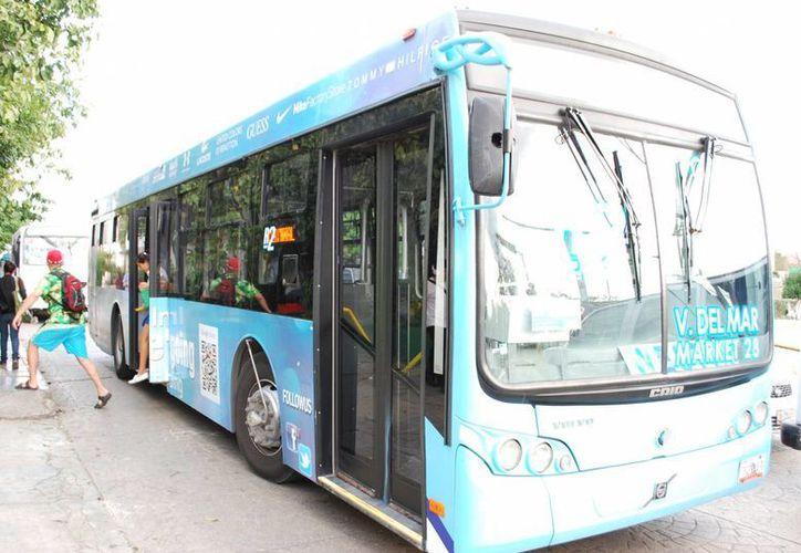 El 70% de los pasajeros del transporte urbano en Cancún corresponde a Autocar y Turicun. (Jesús Tijerina/SIPSE)