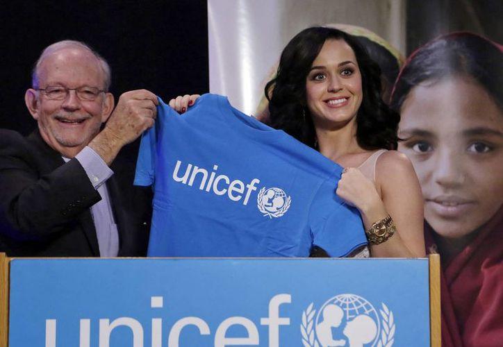 La cantante espera hacer un viaje al año para Unicef y entre los destinos probables están Perú, Haití y Filipinas. (Agencias)