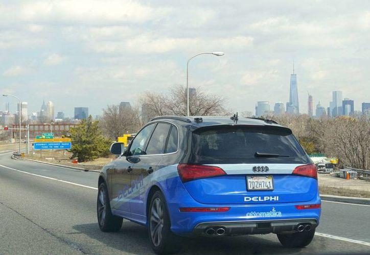 El Audi Q5 viajó prácticamente sin conductor desde San Francisco hasta Nueva York, en Estados Unidos, informó Delphi Corp.