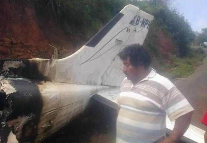 La avioneta cayó en el río Papagayo, en Aguacaliente, Guerrero. (Agencias/Foto de contexto)