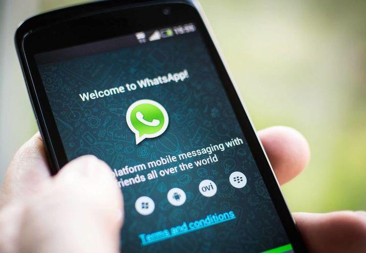 Esta aplicación es una de las más populares que se usan actualmente para comunicarse por medio de un teléfono móvil. (Contexto/Internet)