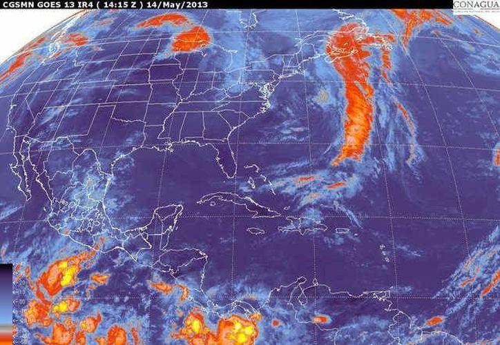 Soplarán vientos del norte y noreste de 20 a 40 km/h con rachas de 55 km/h.
