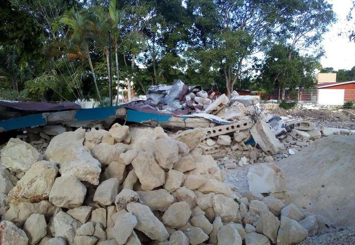El centro de salud de Ucúm es uno de los 150 edificios que serán remodelados por la Secretaría de Salud de Quintana Roo. (Joel Zamora/SIPSE)