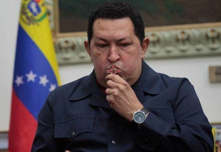 Chavez anunció hoy a través de Twitter su regreso a Venezuela. (Agencias/Archivo)