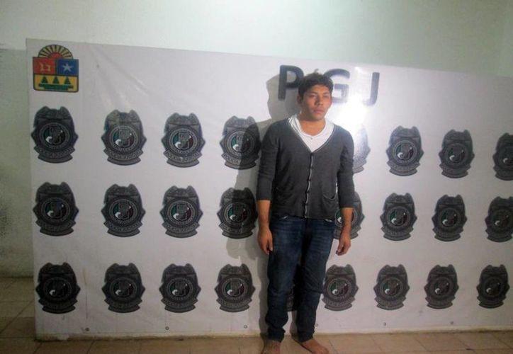 """El """"Comandante Pepe"""", detenido el miércoles pasado en Mérida. (Milenio Novedades)"""