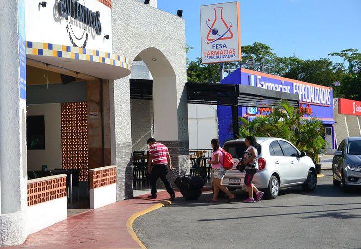 Los hoteles del centro de la ciudad son más económicos. (Karim Moisés/SIPSE)