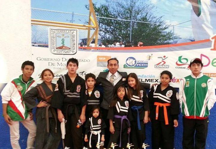 Los integrantes del equipo de Lima Lama. (SIPSE)