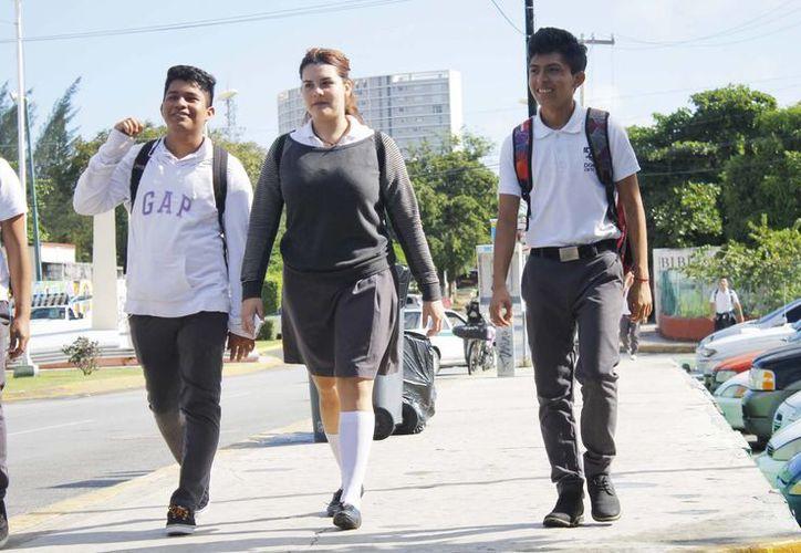 El programa está enfocado a estudiantes de quinto y sexto semestre de bachillerato. (Yajahira Valtierra/SIPSE)