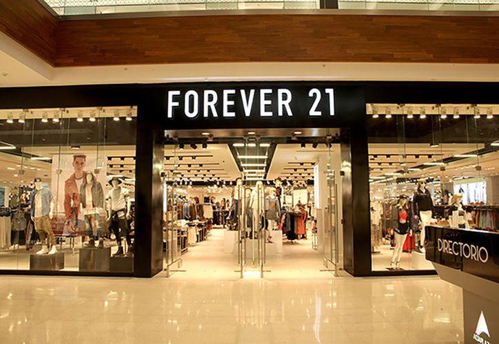 La firma 'Forever 21' tiene diferentes tiendas en la República Mexicana. (SIPSE)