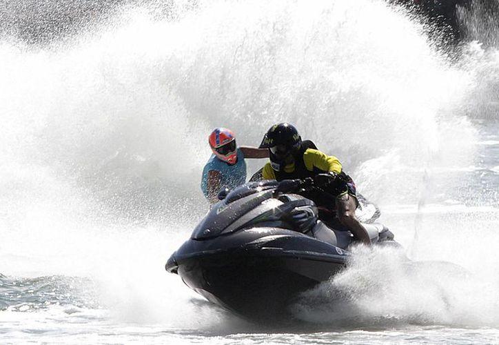En Cancúyn se llevo a cabo la octava edición del Gran Premio Campion de México 2014. (Francisco GálvezSIPSE)