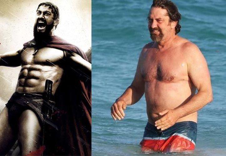 El actor sorprendió con su aumento de peso a sus seguidores. (Foto: Redacción)