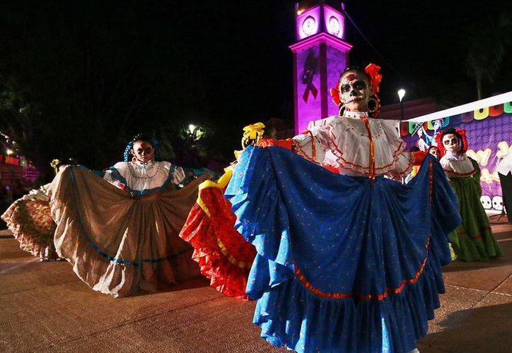 El evento se desarrolló en el parque Benito Juárez. (Cortesía/SIPSE)