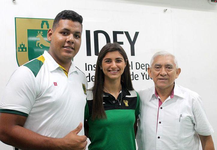 Tanto Claudina Díaz Castro como José Manuel López, se proclamaron campeones nacionales en la pasada edición de la Olimpiada Nacional 2018. (Milenio Novedades)