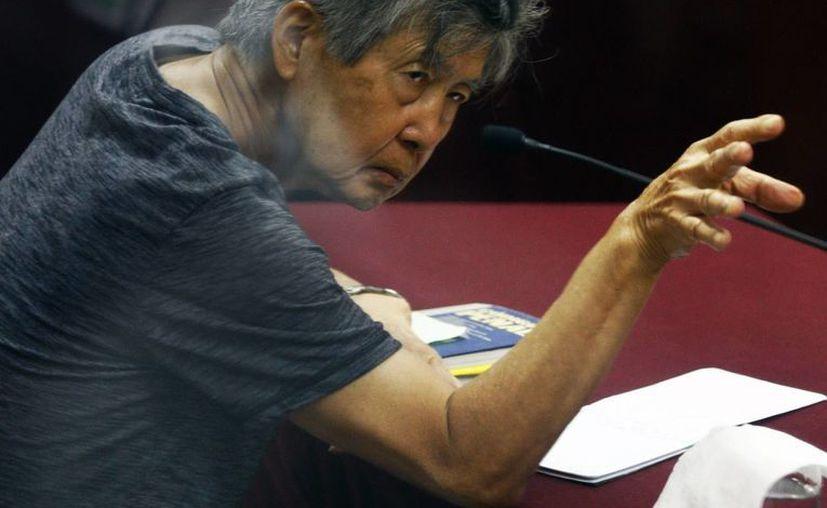 Alberto Fujimori fue dado de alta de la clínica La Luz y devuelto al penal de Barbadillo, donde cumple una condena de 25 años de cárcel por delitos de lesa humanidad. (EFE/Archivo)