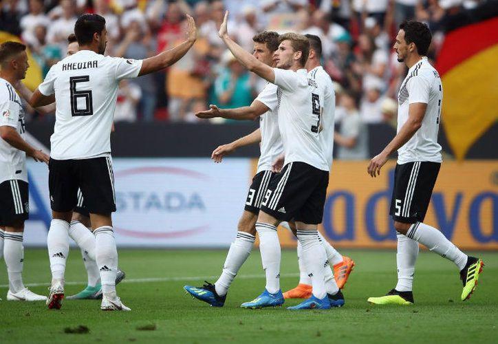 Por increíble que parezca, Alemania ha sido goleado varias veces, pero no muchas (Foto: Twitter)