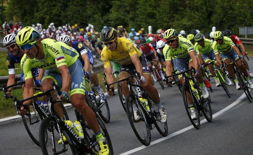 Tour comienza este fin de semana con dos etapas en Düsseldorf. (Peter Dejong/AP).