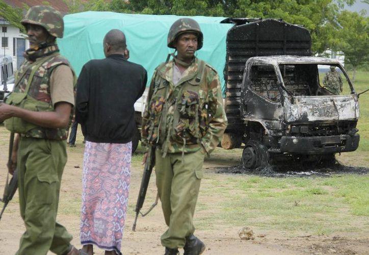 En el condado de Lamu, cerca de la frontera con Somalia, fallecieron cuatro personas en un intercambio de fuego. (EFE)