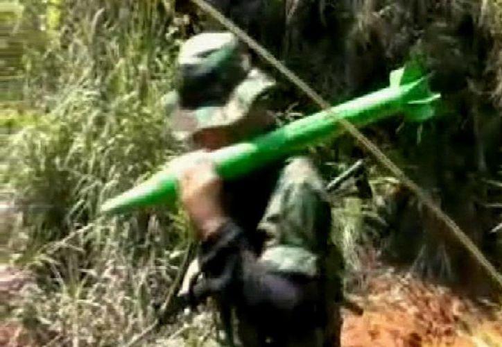 El video fue difundido por el diario El Tiempo. (EFE)