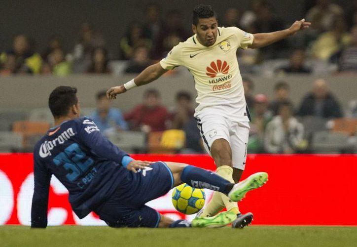El futbolista Cecilio Domínguez se perdería el partido de la jornada 8 del Clausura 2017, ante Chivas, el próximo sábado 18 de febrero.(Jam media)
