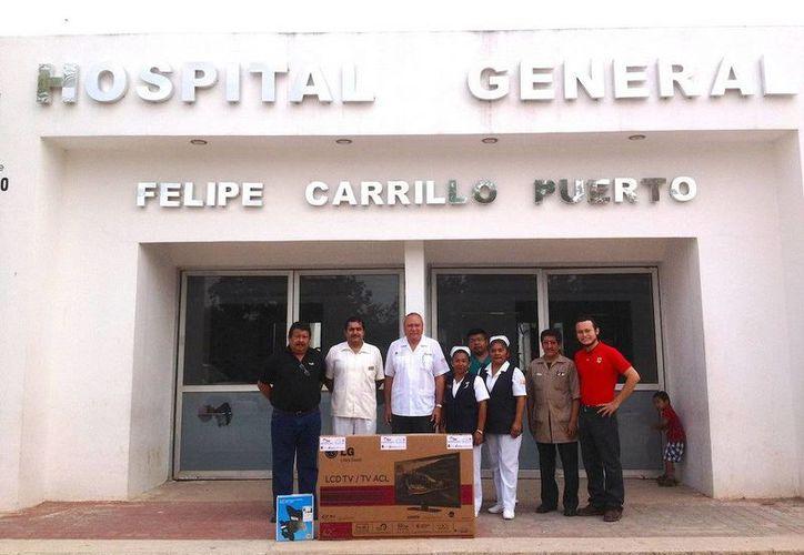 En el Hospital General de Felipe Carrillo Puerto se atienden hasta 30 menores de edad en el área de pediatría. (Redacción/SIPSE)