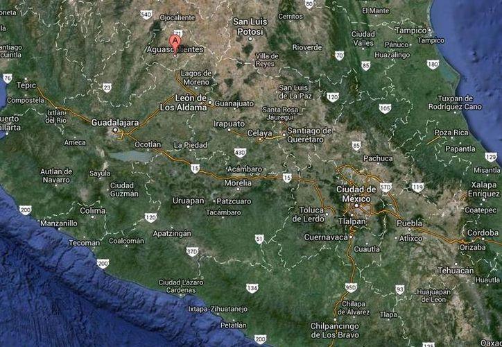 Juan Ricardo Pasillas Hernández, presunto integrante de La Oficina, habría cometido en septiembre en Aguascalientes (foto) los dos asesinatos. (Google Maps)