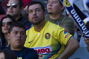 Los rostros de la afición el Azteca