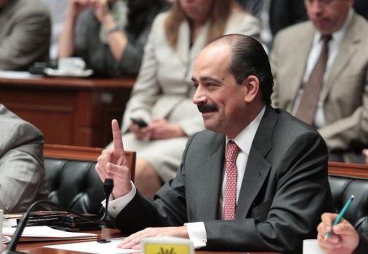 Lerdo de Tejada ha sido representante del PRI ante el IFE. (Notimex)