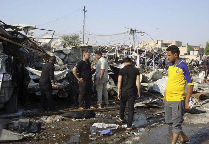 En la capital iraquí, Bagdad, es común que ocurran atentados explosivos casi a diario. (EFE/Archivo)