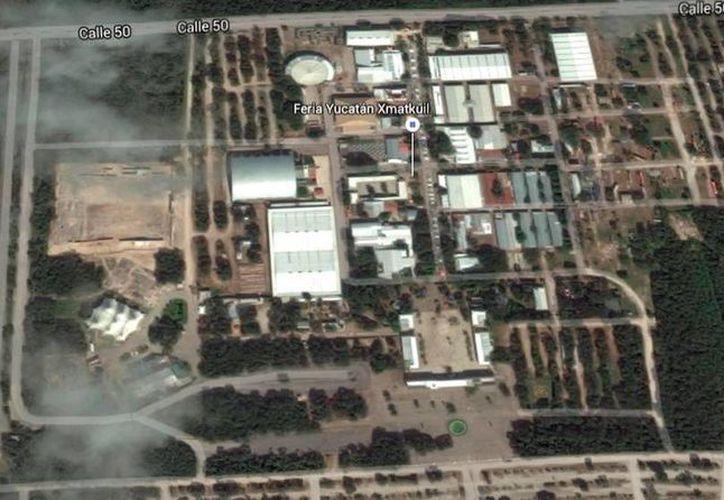Las instalaciones de la Feria Yucatán no podrán utilizarse como pista de arrancones, actividad que el Club de Aceleración de Mérida coordinaba desde hace 11 años. (Google Maps)