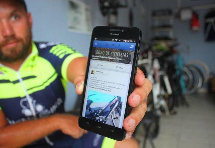 La EMBI propone el uso de las redes sociales para combatir el robo de bicicletas en Playa del Carmen. (Daniel Pacheco/SIPSE)