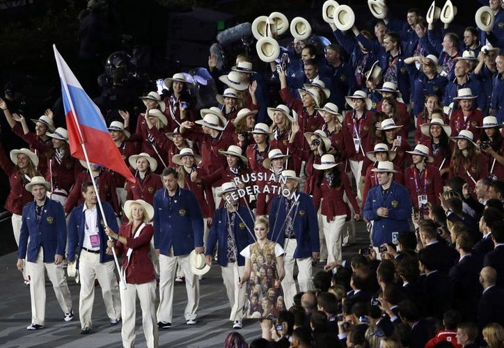 Los directivos del deporte se preocupan por más casos de Meldoniun en Rusia. (AP)