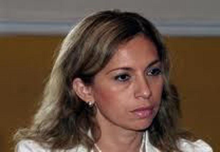 Angélica Araujo dejó en enero de 2012 la alcaldía de Mérida para hacer campaña por la senaduría. (SIPSE)